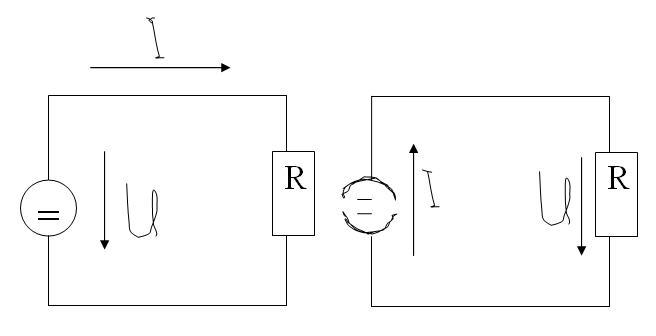 Richtung des Stromflusses