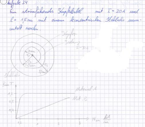 magnetischer fluss durch einen kreisring berechnen. Black Bedroom Furniture Sets. Home Design Ideas